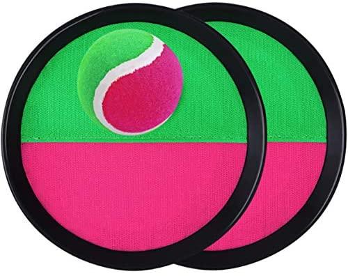 TOYANDONA Set Palla con Palla Presa-2 Racchette + 1 Palla Interessante...