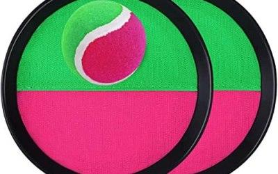 TOYANDONA Set Palla con Palla Presa-2 Racchette + 1 Palla Interessante…