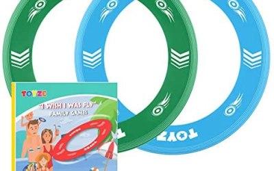 Toyze Dischi Volanti per Bambini Giochi All'aperto Estivi-Giocattoli…