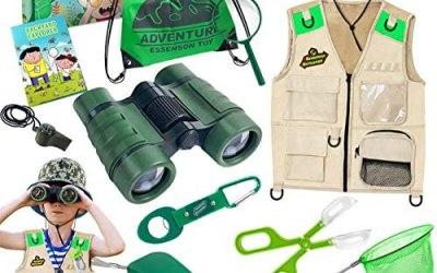 ESSENSON Kit Esploratore all'aperto – Set Cattura Insetti con Gilet,…