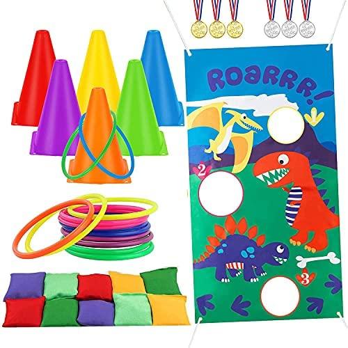 ThinkMax - Set di giochi all'aperto per bambini, sacco di fagioli per...
