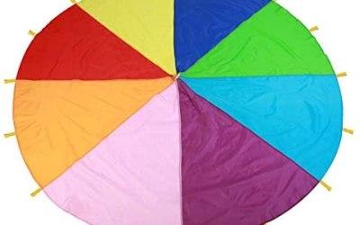 Zerodis Bambini Gioco Giocare Colorato Arcobaleno Paracadute Giochi…