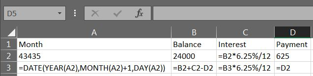 Excel Loan Payment 03