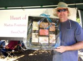 Winner of framed set of wine labels