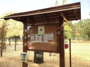 The completed Kiosk