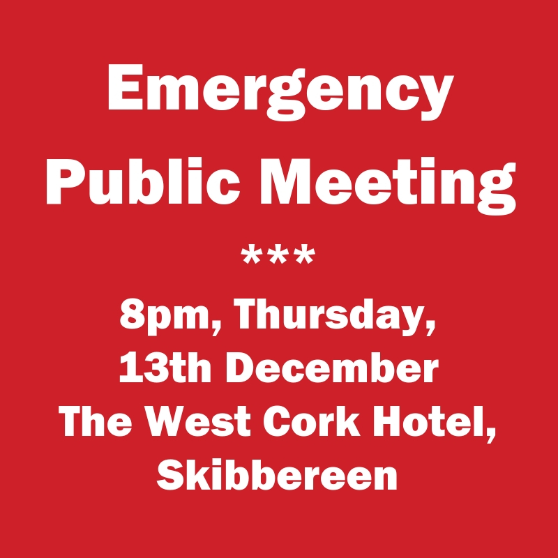 SOS Emergency Public Meeting