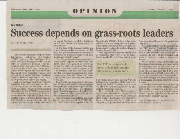 Free Press op-ed