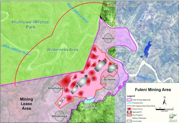 Fuleni Mining area