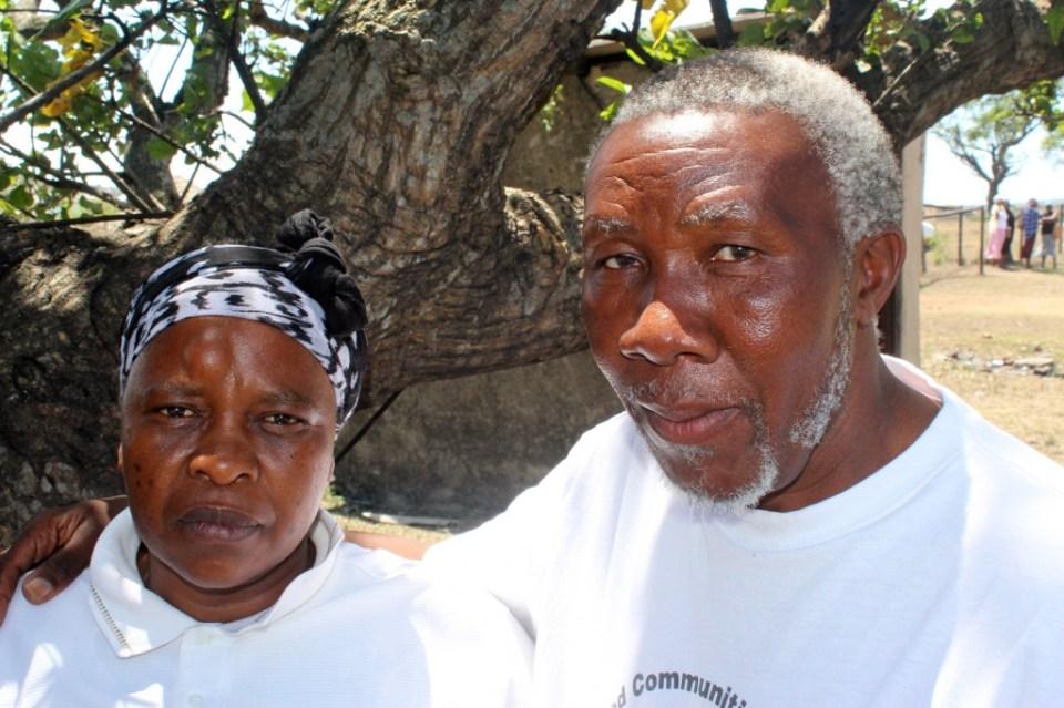 Smangele Nkosi and Gednezar DladlaYYY2