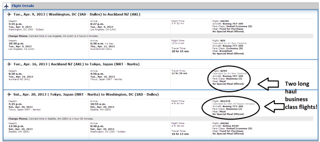 This entire itinerary for 107,500 miles plus taxes and fees per person