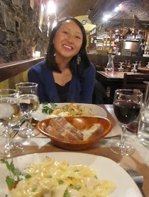 Dinner at Il Baccaro