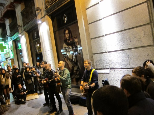 This street band is one of our favorite memories in Europe (Madrid)