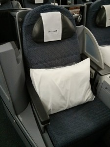 United Business First seat