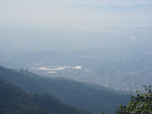 View of Maracana from Corcovado
