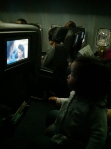 A child who has watched very little TV was quite into the safety video