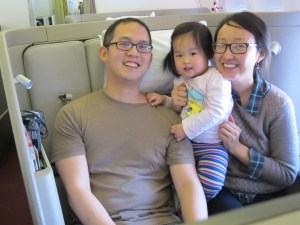 Home for the Holidays: Cathay Pacific First Class with a Toddler