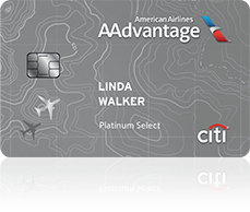 They've redone the look of the Citi AA Platinum Select card, but you still can't get a new one if you opened or closed one 18 months ago