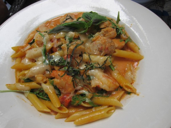 My seafood pasta at Coco Bistro was excellent but I didn't think anything else was worth writing home about