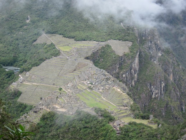 "The ""condor's view"" of Machu Picchu"