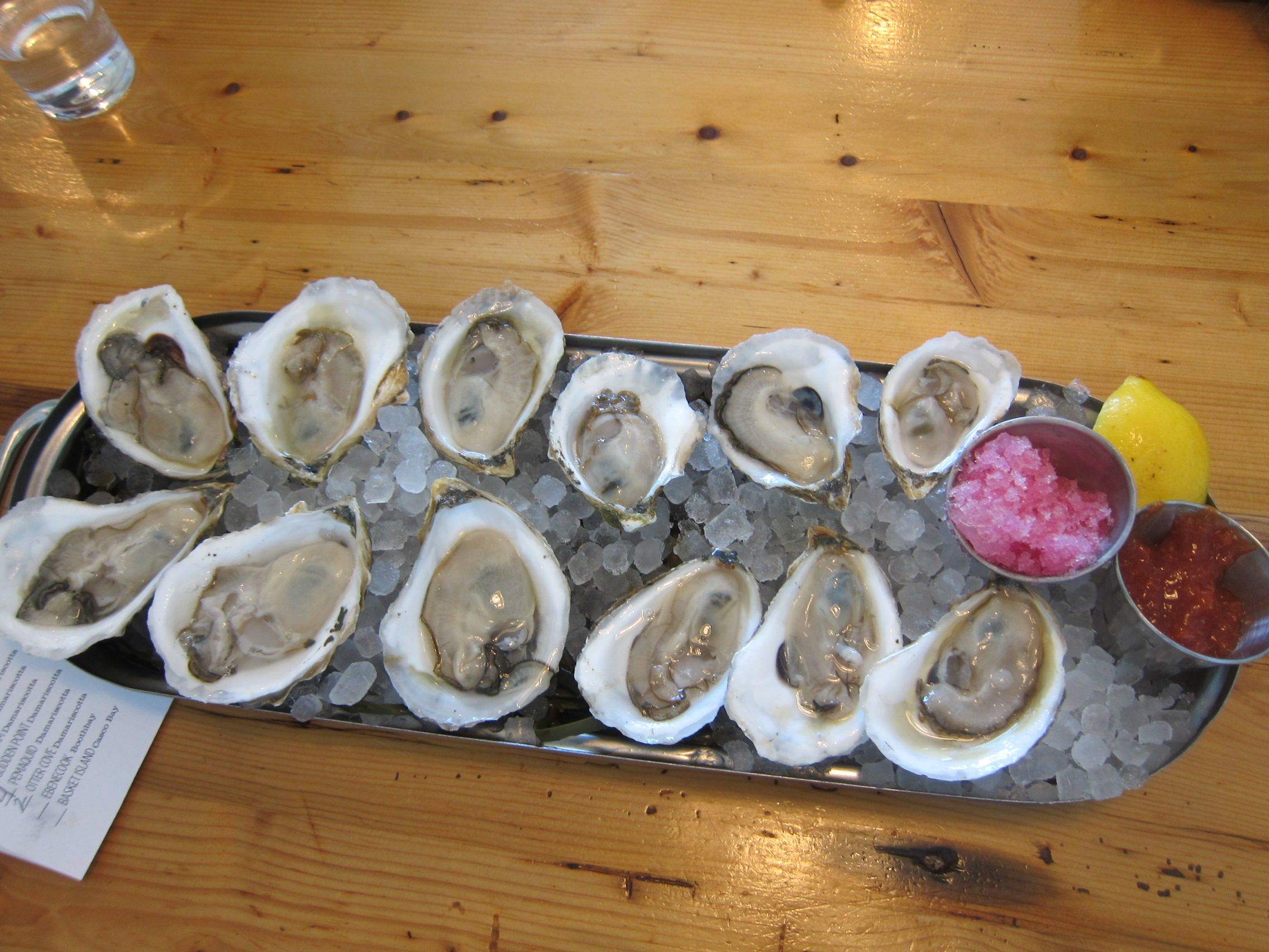Eventide has some of the best oysters Maine has to offer