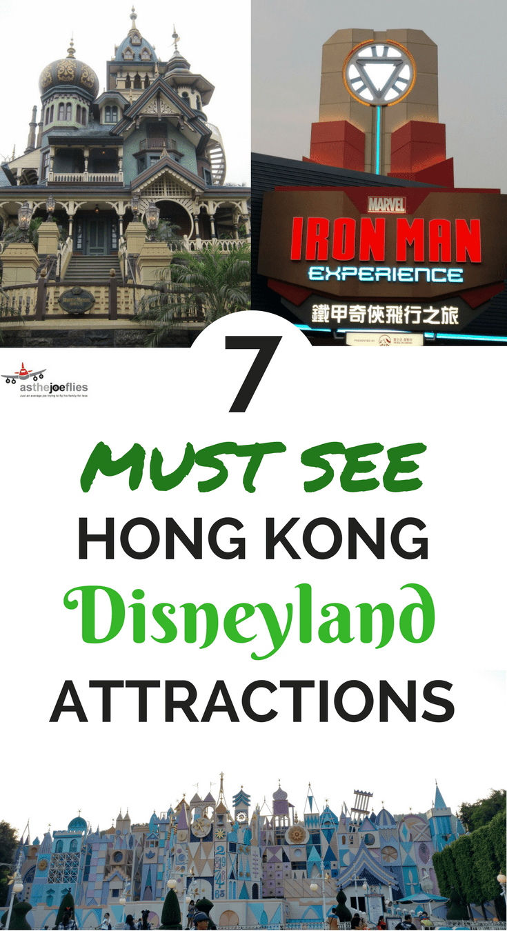 Hong Kong Disneyland features a lot of unique attractions. If you're visiting from the USA, here are the 7 Hong Kong Disneyland best rides and attractions!