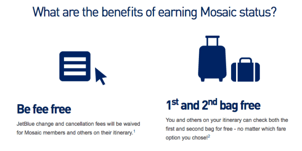 You can earn Jetblue Mosaic status with the Jetblue Plus card. Though it takes months to update your account, here's how to get benefits quicker!