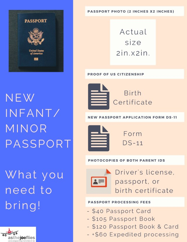 Applying For An Infant Passport Step By Step Guide Asthejoeflies