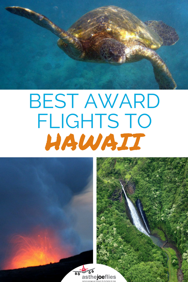 You have lots of options for how to book flights to Hawaii using miles and points. We take a look at the best award rates to Hawaii and how to book flights with miles to Hawaii.