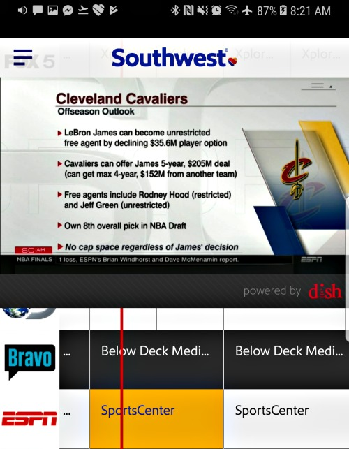 Southwest family friendly policies - Live TV