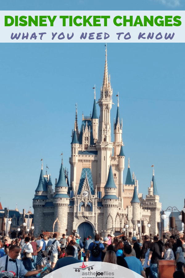 Walt Disney World ticket changes are now in effect! Find out what you need to know about the changes and how you can save money on future trips with a little bit of planning. Full details and examples included! #Disney #DisneySMMC #FamilyTravel #DisneyWorld #DisneyWorldTips