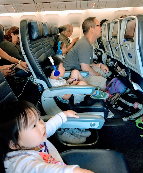 Traveling with a Toddler - flying with a toddler