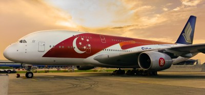 Singapore Airlines' newest special livery