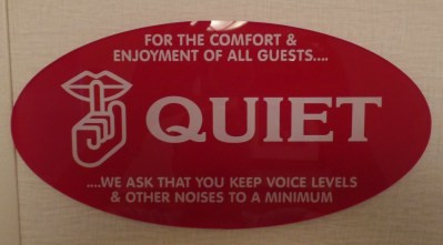 Hotel Etiquette – Should Hotels spell it out for you?
