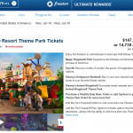 How to book Disney tickets on the Chase travel portal and how much it will cost you