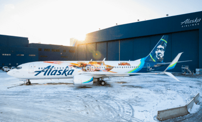 Alaska's latest Livery is Higher, Further, and Faster!