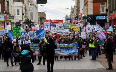 Video of the Save Southend NHS Rally & March Jan 2018