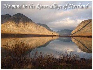 No Mine in the Rivervalleys of Norrland