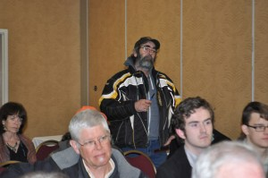 """Robert Lattie is the founding father of the """"Save The Bay Of Fundy"""" group."""
