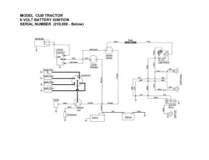 6 volt positive ground battery ignition schematic?  Farmall Cub