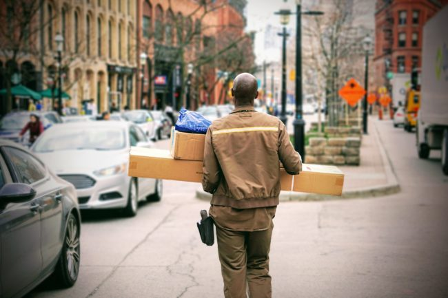 Click and collect can help with awkward delivery charges, Photo by Maarten van den Heuvel on Unsplash