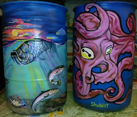 Artisan Rain Barrel Collection