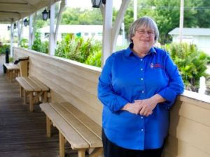 Laurilee Thompson, co-owner of Dixie Crossroads restaurant
