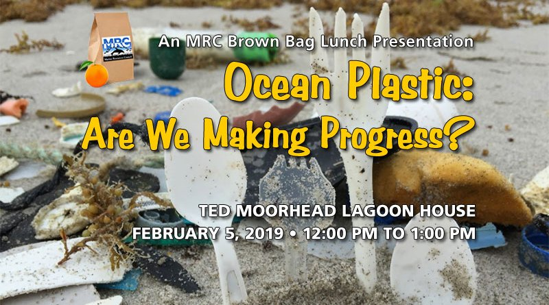 Feb. 5 Brown Bag Lunch: Ocean Plastics