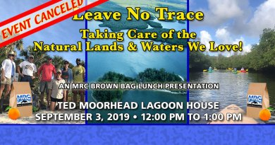 Canceled: Sept. 3 Brown Bag Lunch