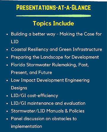 Presentations At-A-Glance: LID Conference