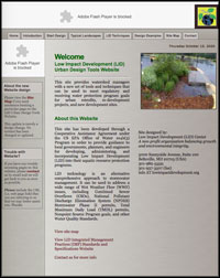 Low Impact Development Design Tools Website