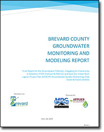 Brevard County Groundwater Monitoring and Modeling Report