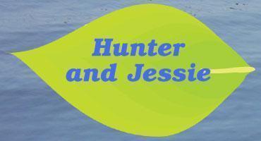 Hunter and Jessie