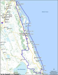 The Indian River Lagoon watershed