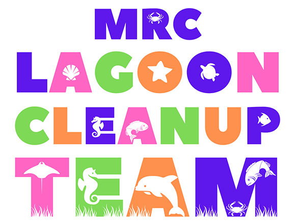 MRC Lagoon Cleanup Team Shirt detail